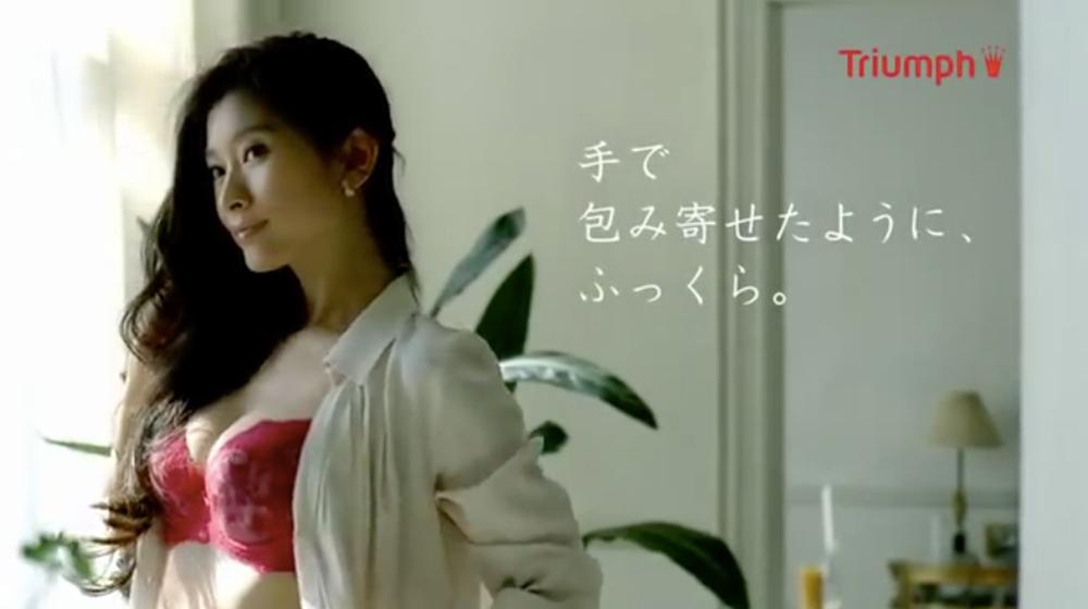 天使のブラ TVCM  「朝の身じたく」篇